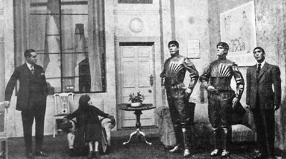 R.U.R., a 1920 science fiction play by the Czech writer Karel Čapek