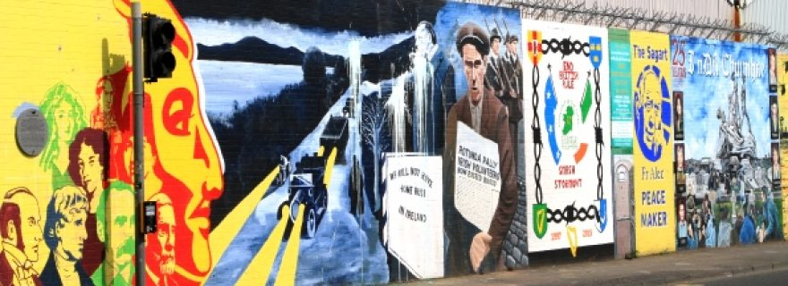 'Walls of Peace' and memories of conflict in Belfast