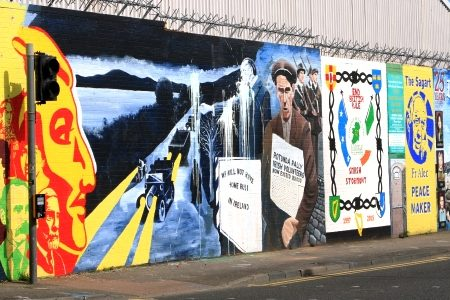 'Walls of Peace' and memories of conflict in Belfast