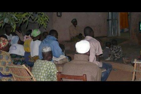 Jesus film magic in the West African bush